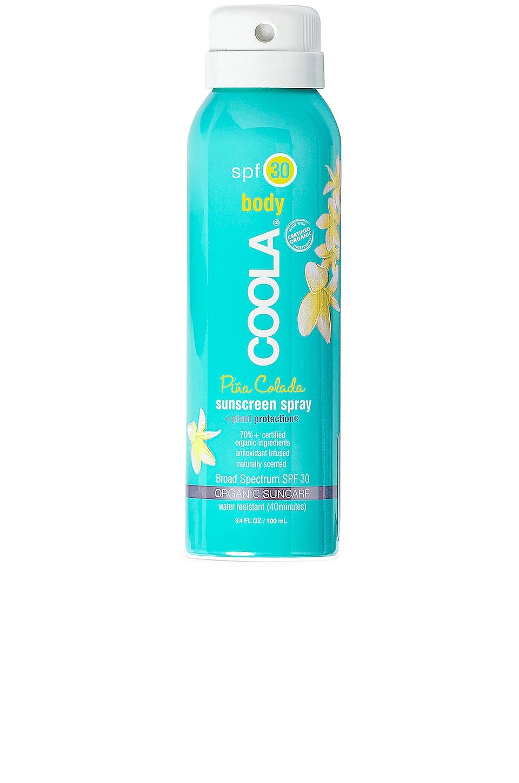 COOLA Travel Body SPF 30 Pina Colada Sunscreen Spray