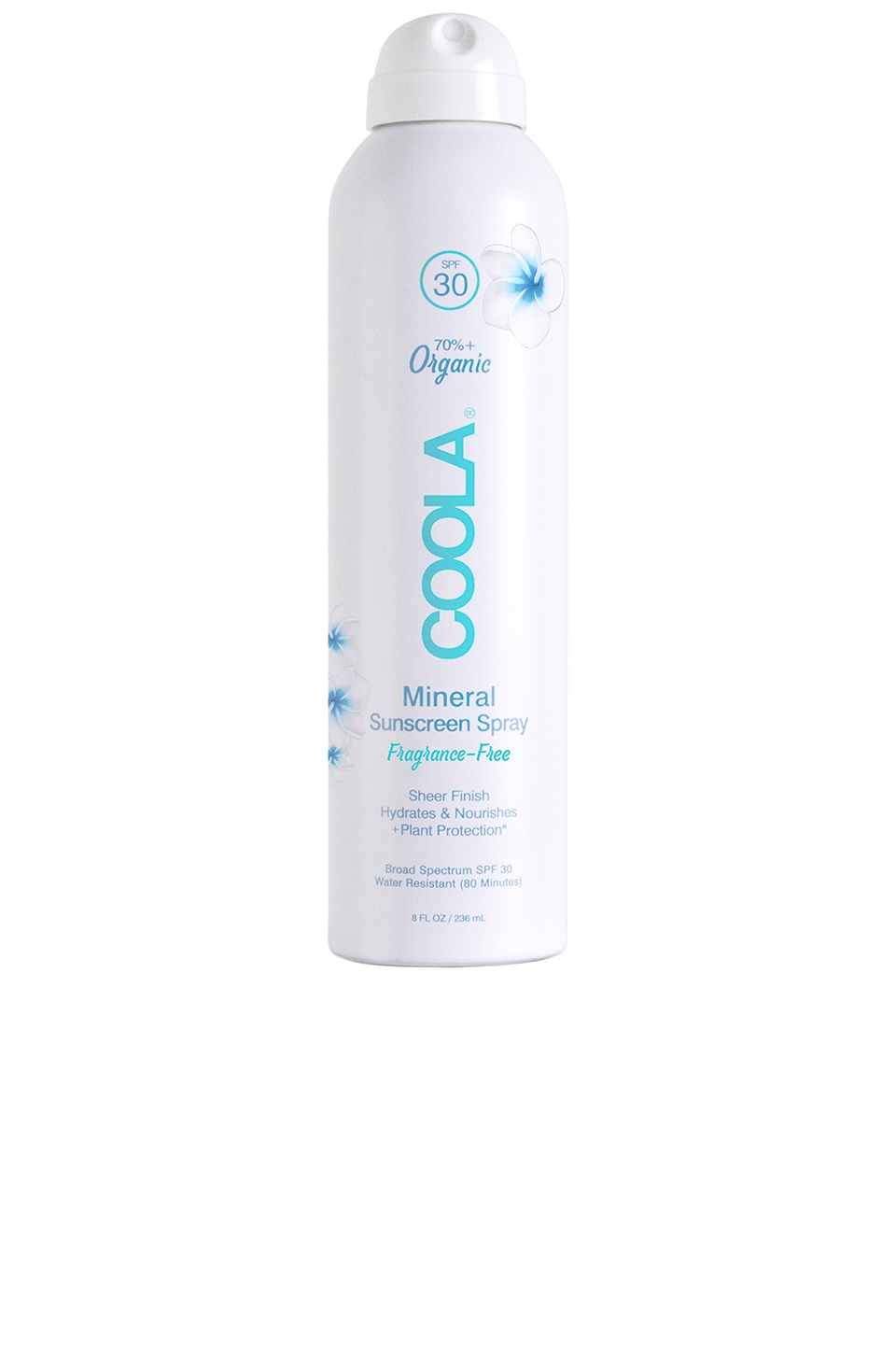 COOLA Organic Mineral SPF30 Body Sunscreen Spray