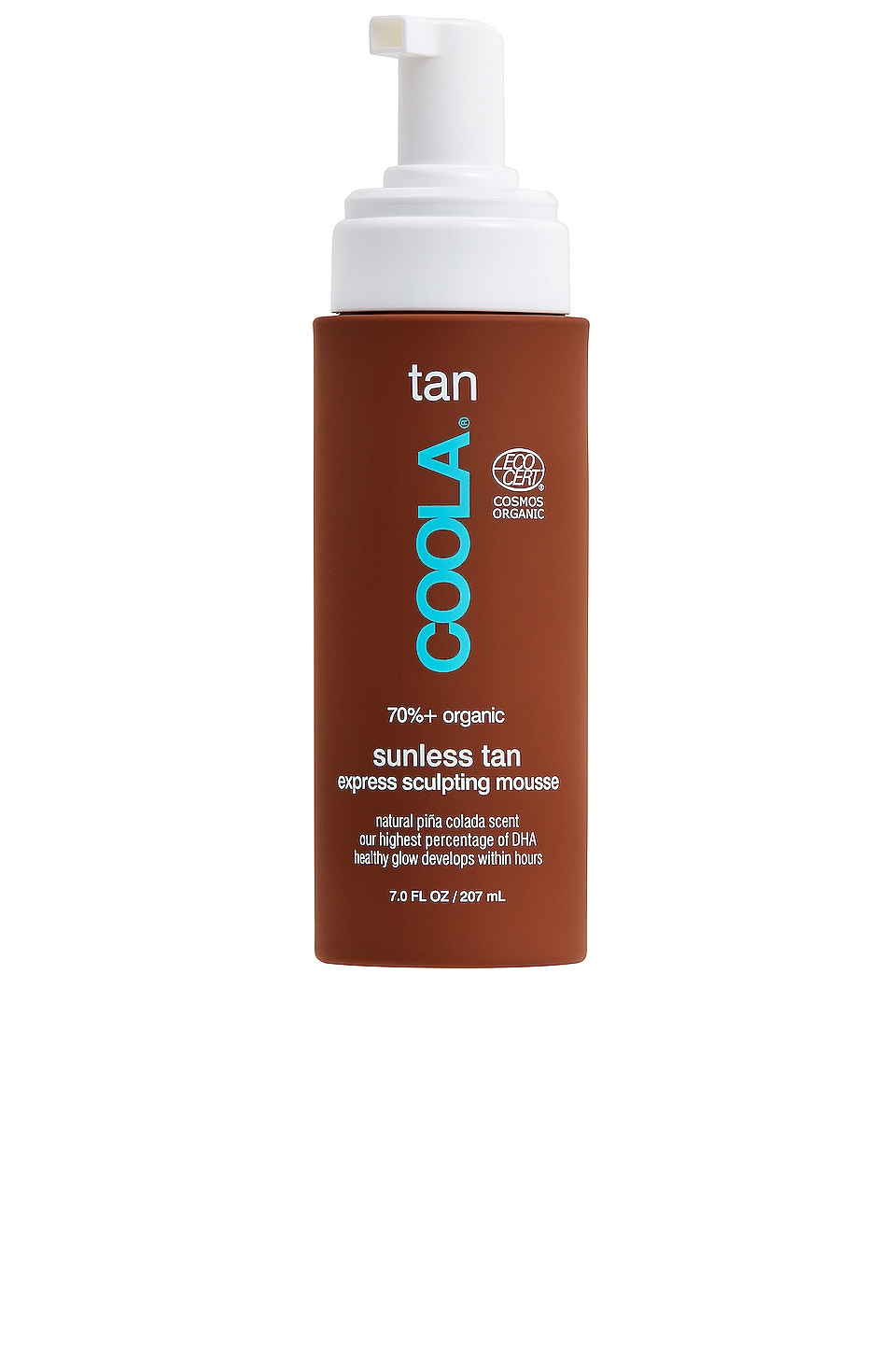 COOLA Organic Gradual Sunless Tan Sculpting Mousse