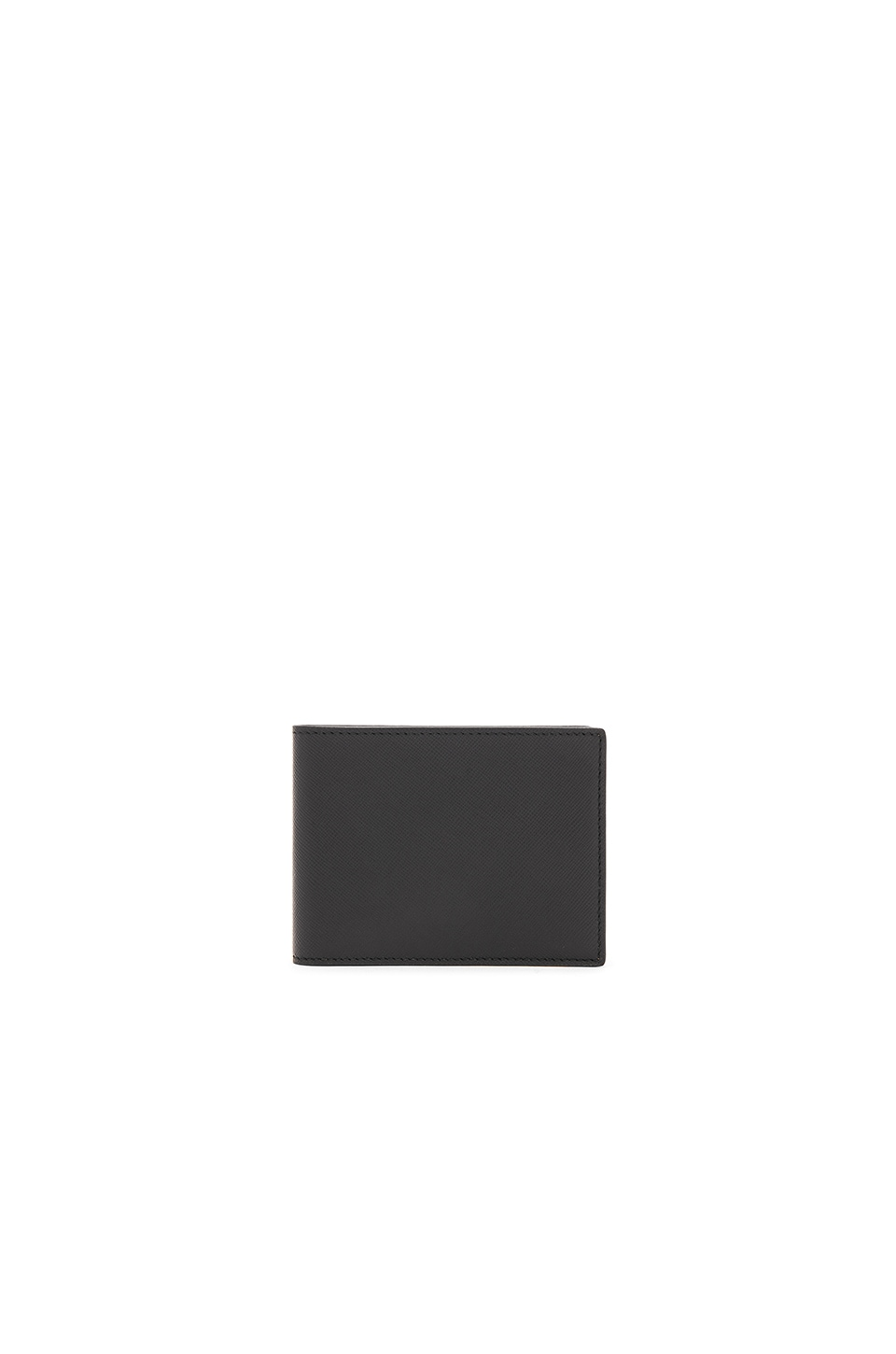 Common Projects Saffiano Leather Billfold in Black