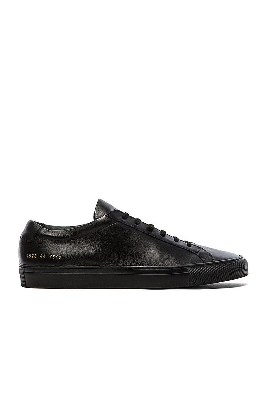Common Projects Original Leather Achilles Low en Black