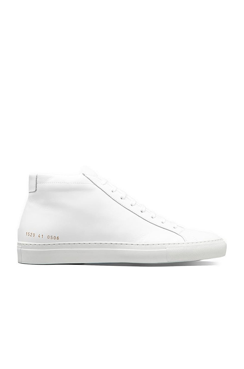 Common Projects Original Leather Achilles Mid in White