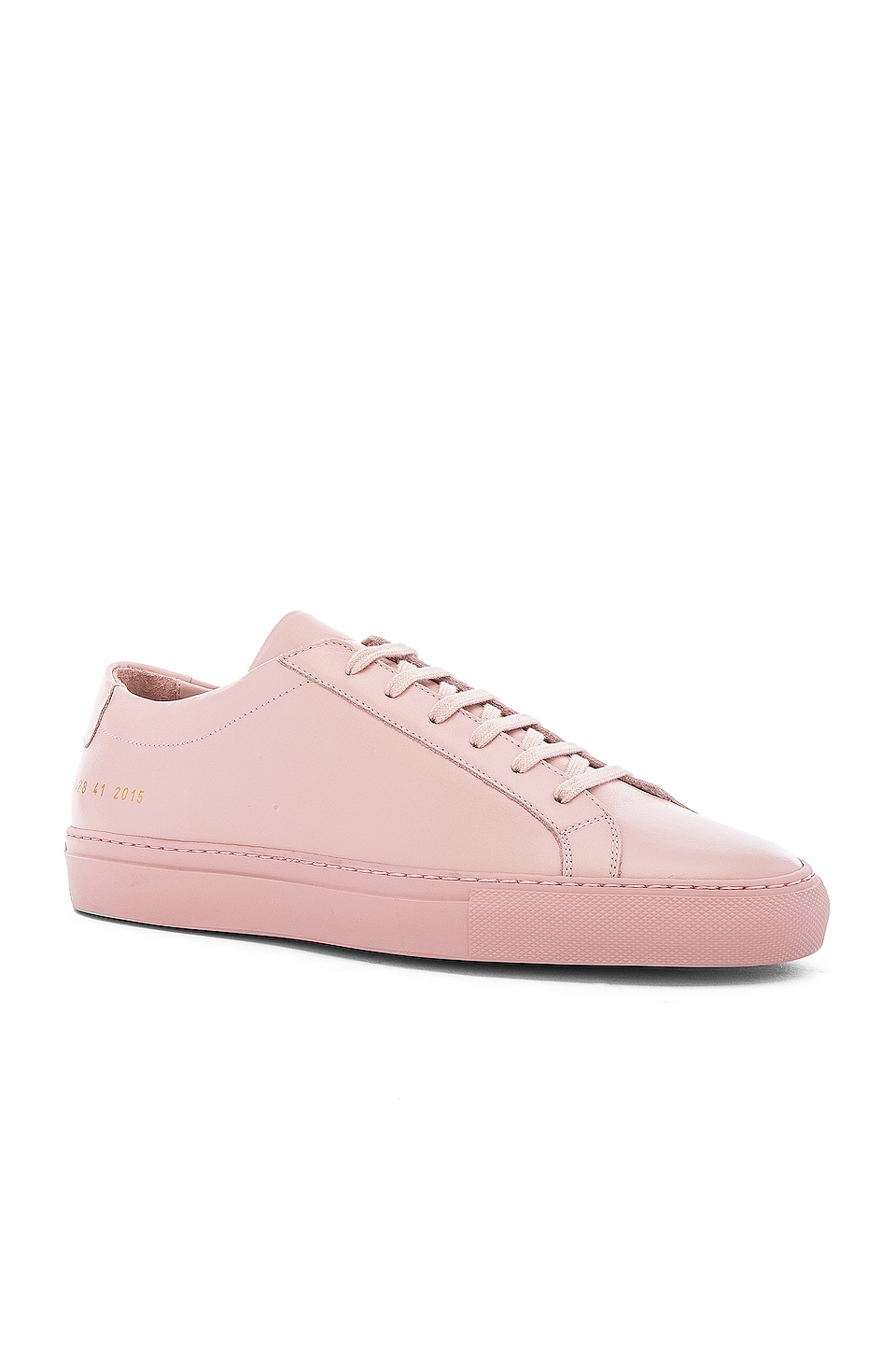 Common Projects Original Leather Achilles Low en Blush