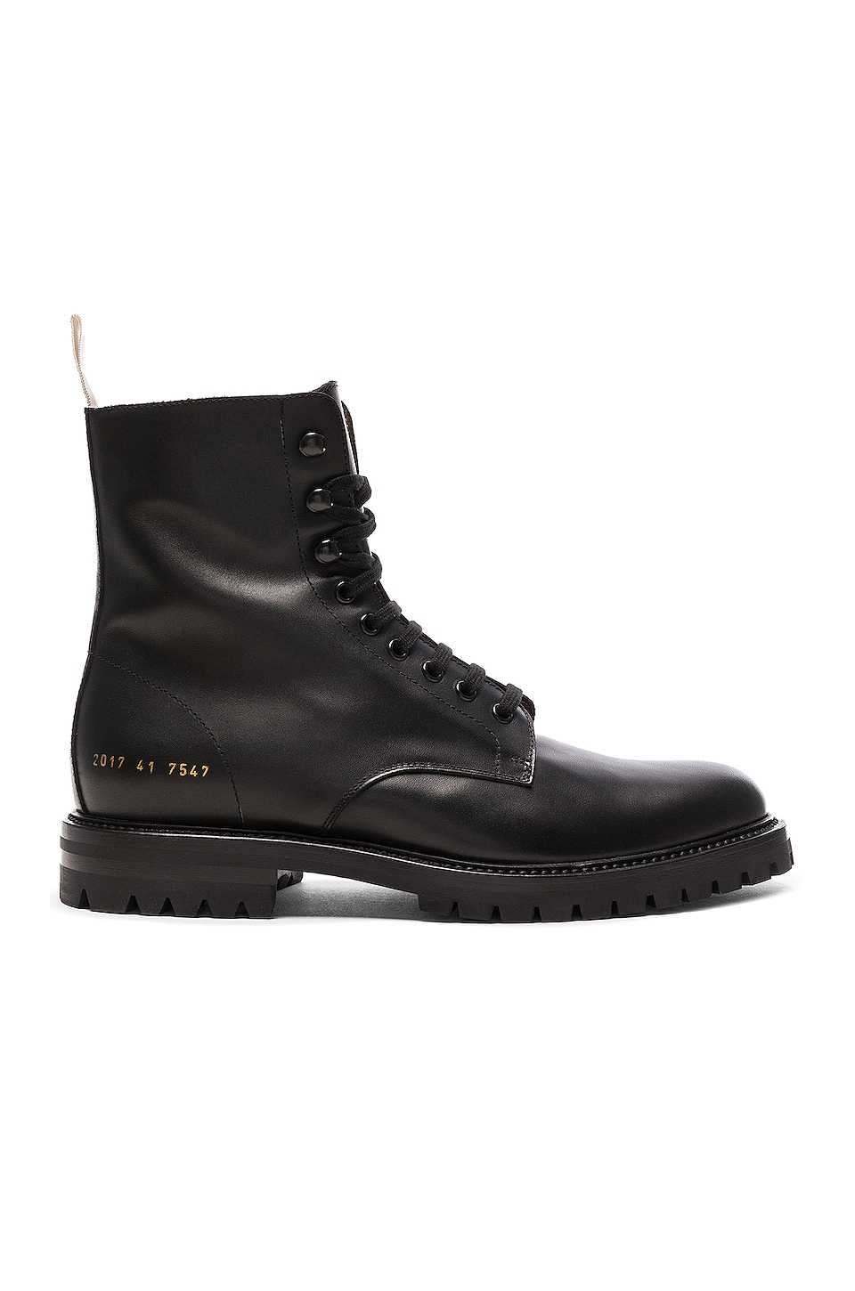 Common Projects BOTAS LEATHER WINTER COMBAT