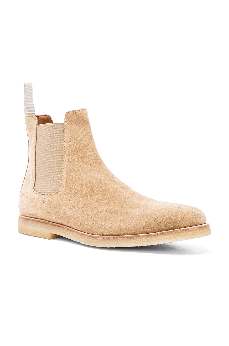 Common Projects BOTTINES CHELSEA SUEDE