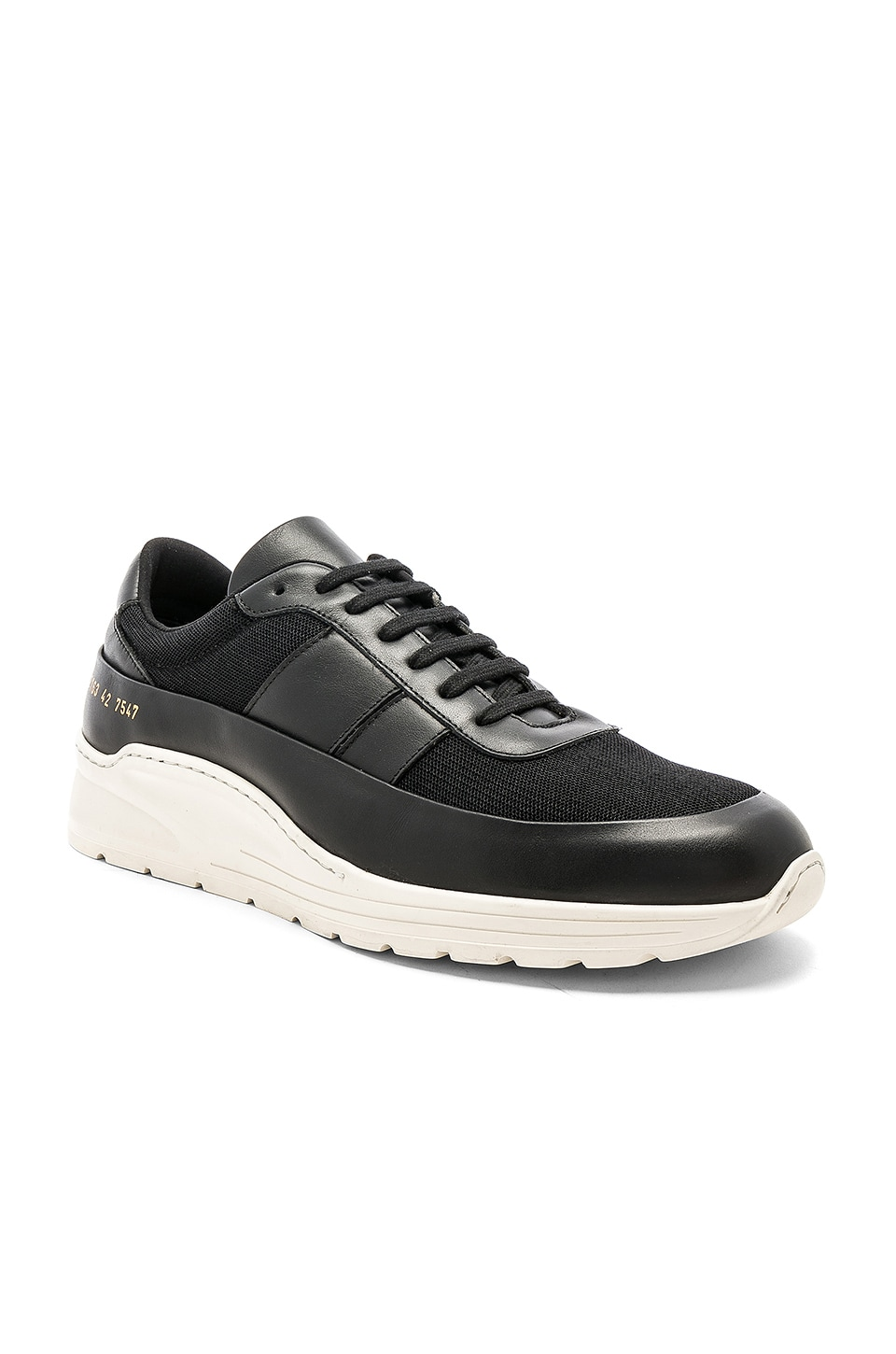 Common Projects Track Super in Black