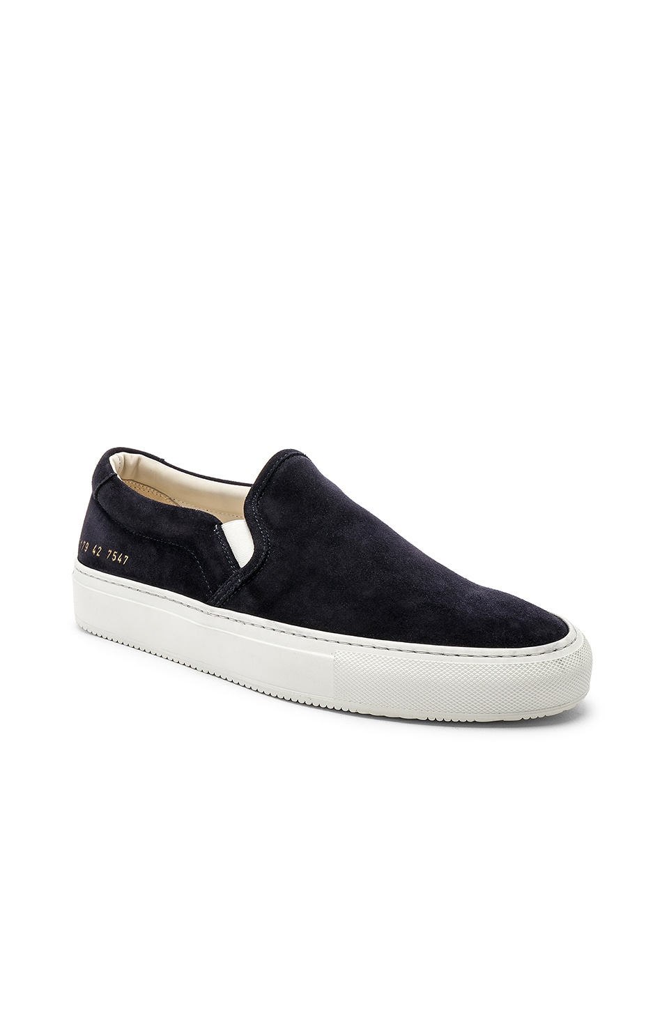 Common Projects Slip On Sneaker in Black