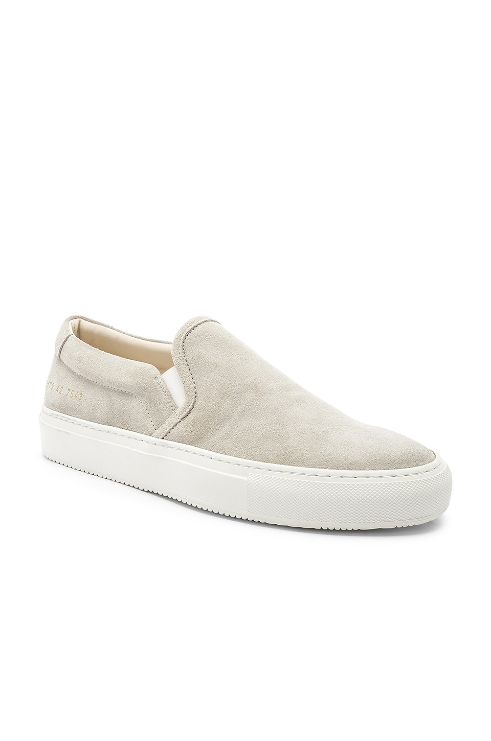 Common Projects Slip On Sneaker in Grey