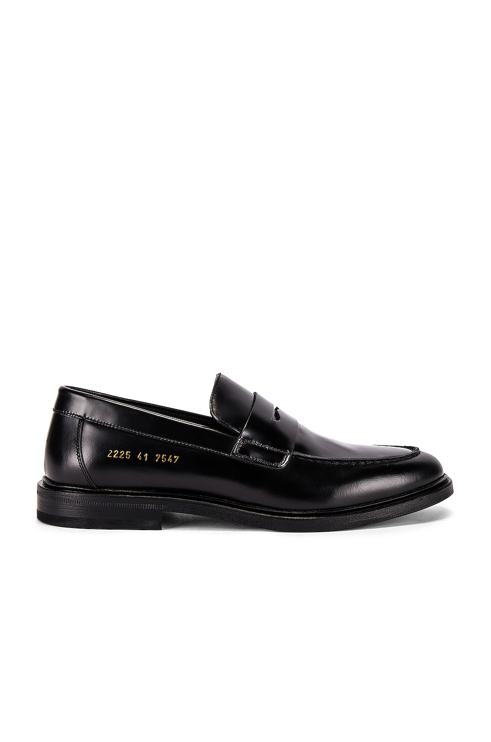 Common Projects Leather Loafer in Black