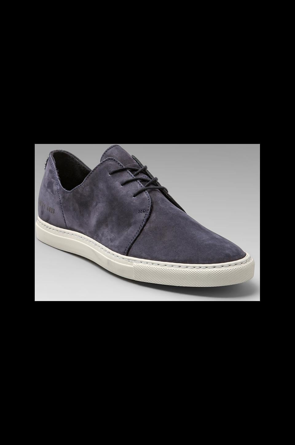 Common Projects Rec in Nubuck in Navy