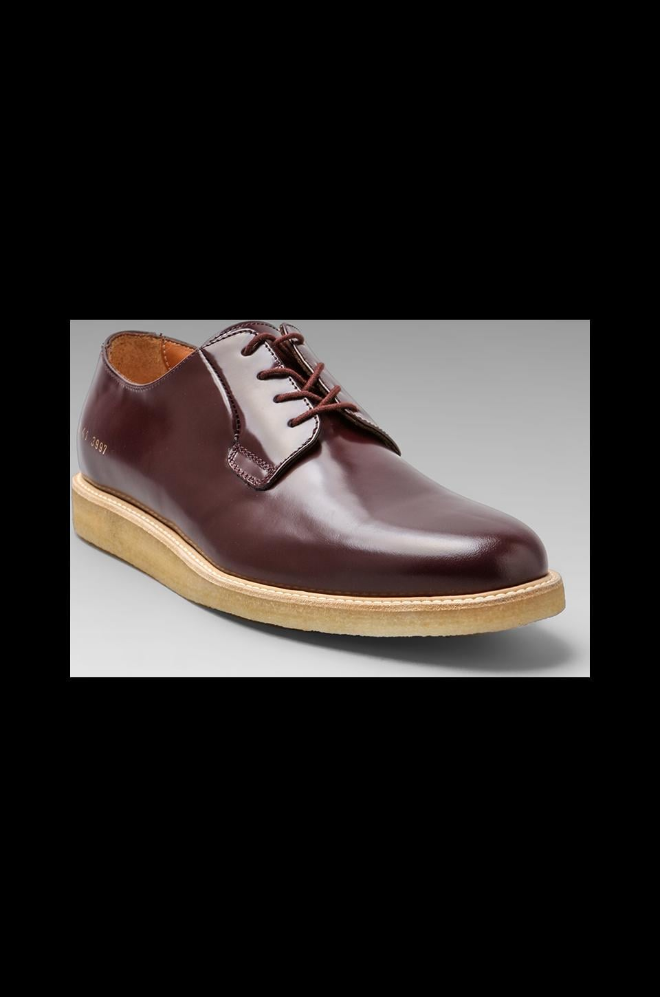 Common Projects Derby in Burgundy