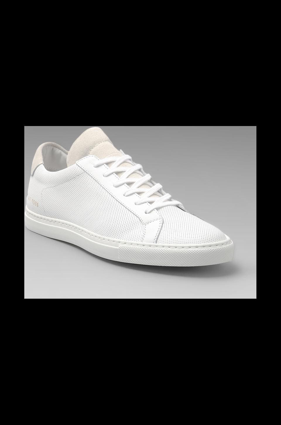 Common Projects Summer Edition Perforated in White