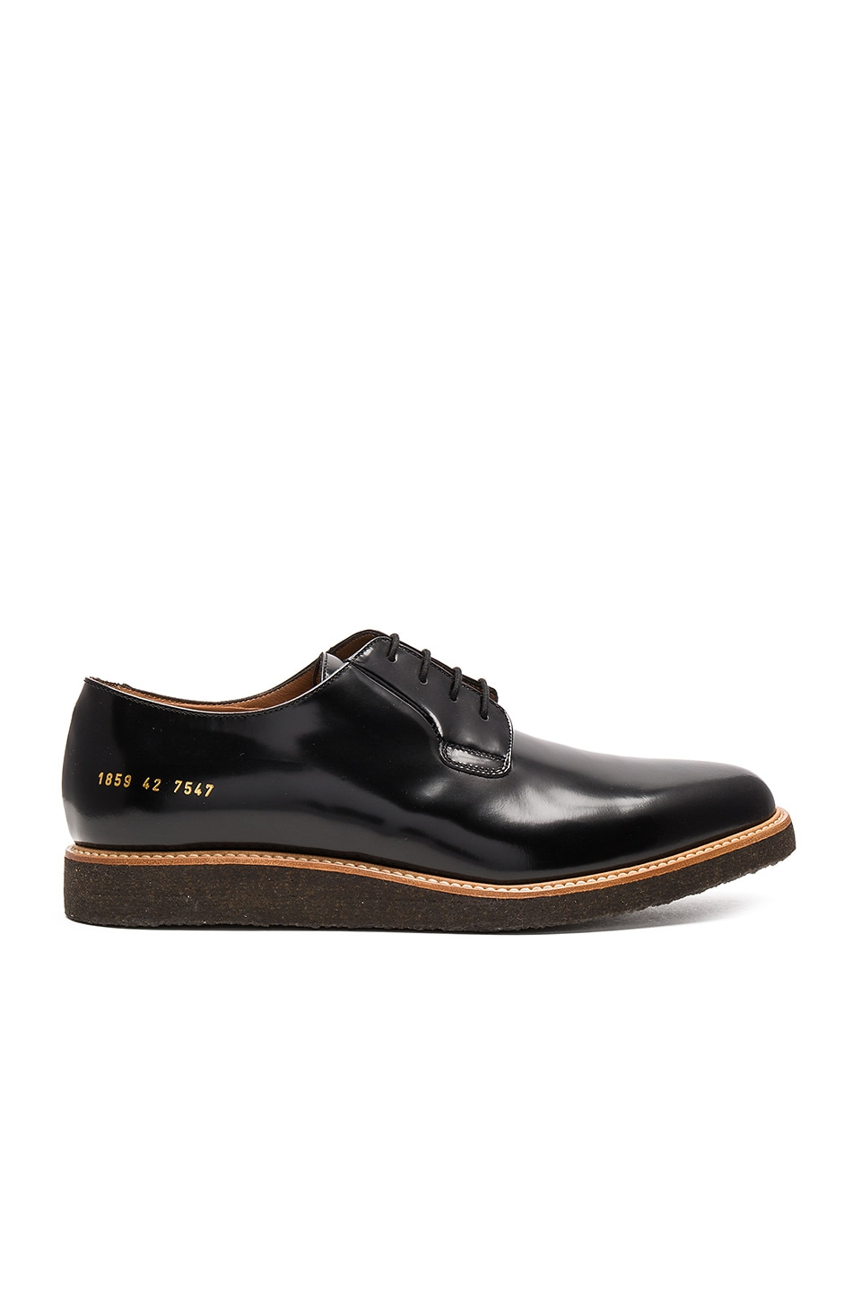 Common Projects Derby Shine in Black