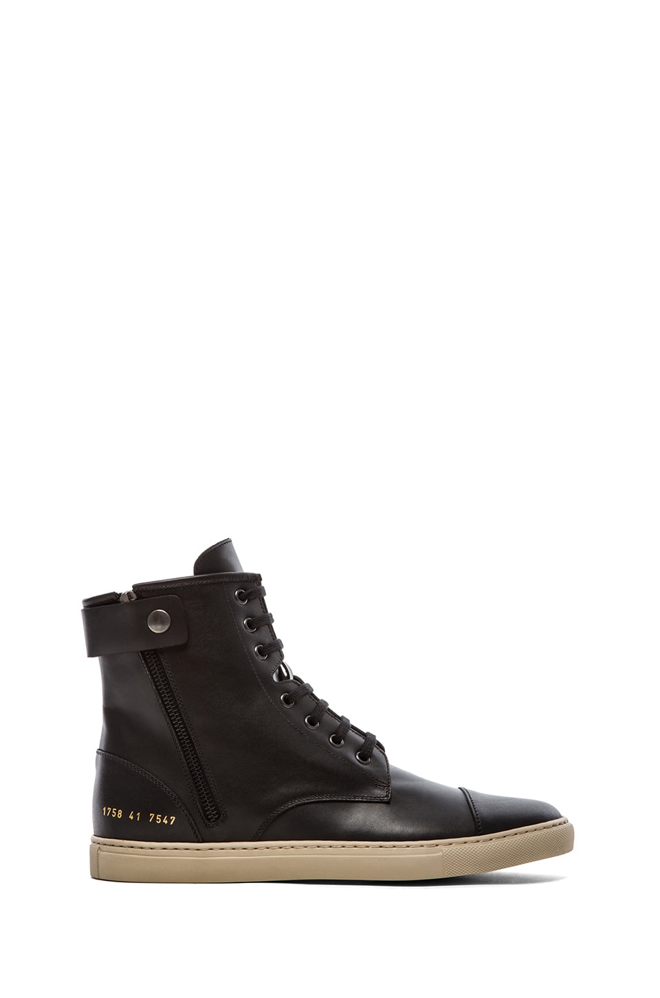 Common Projects Training Boot in Black