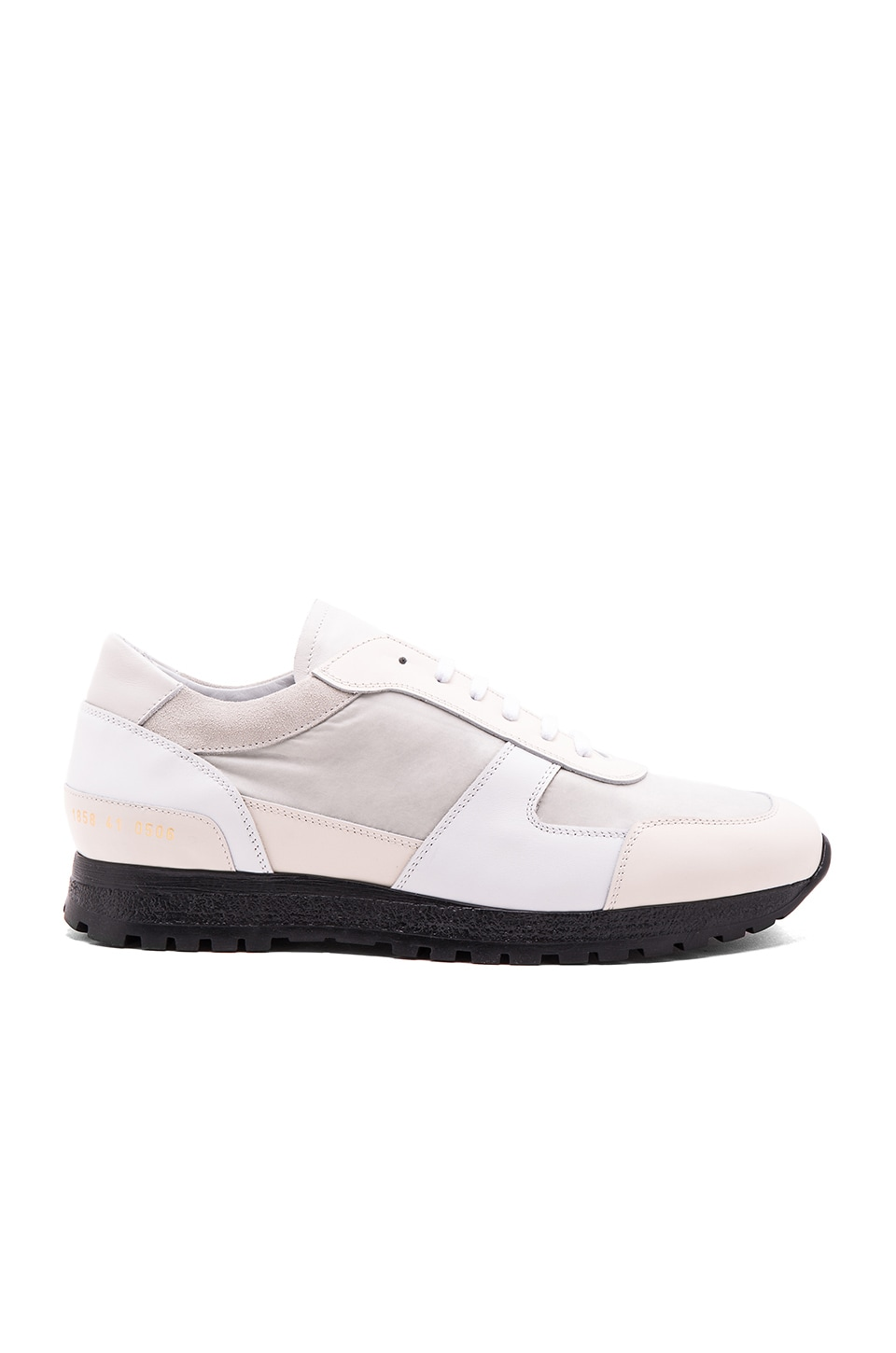 Common Projects Track Shoe in White