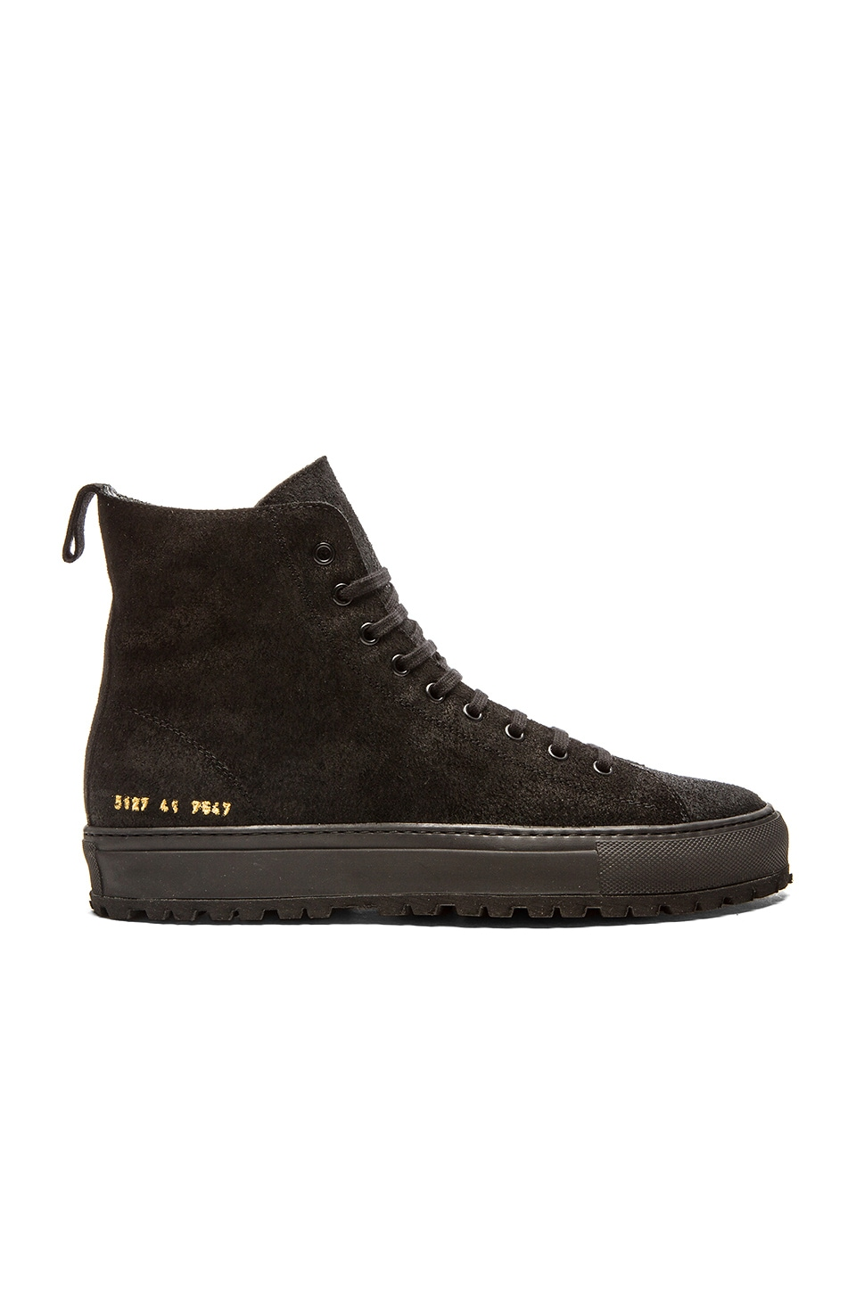 a8bbb9d98e0a Common Projects Tournament High Lug in Black