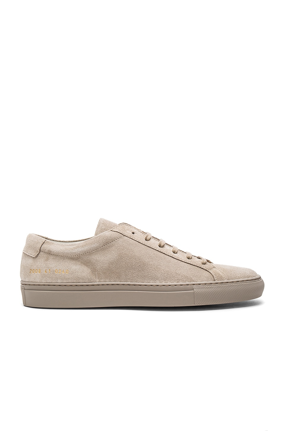 COMMON PROJECTS ORIGINAL ACHILLES SUEDE LOW