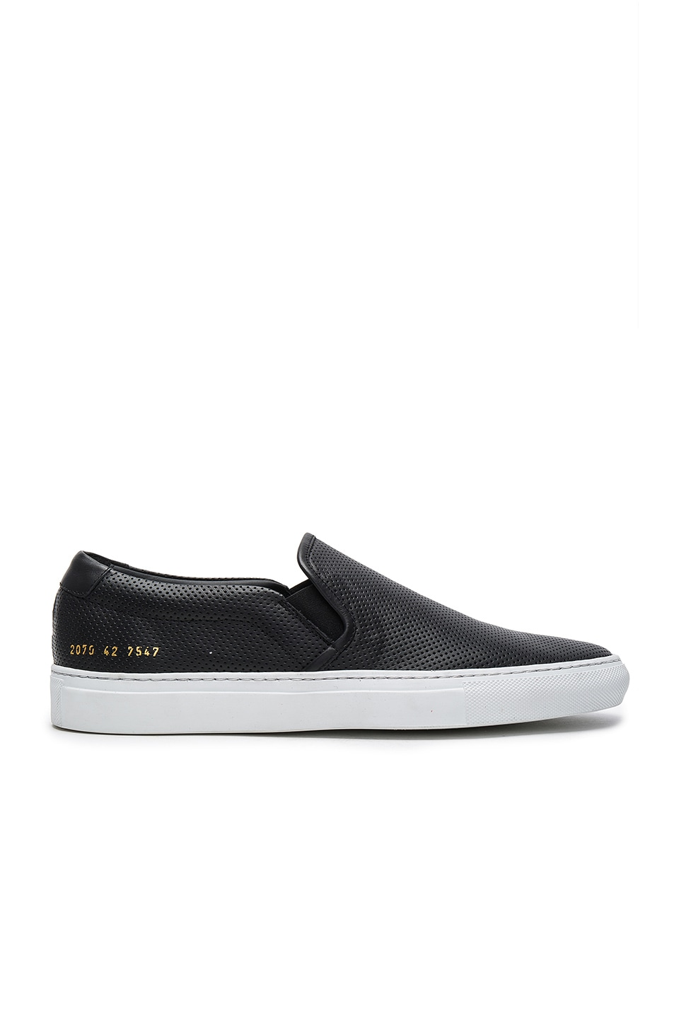 Photo of Slip On Perforated by Common Projects men clothes