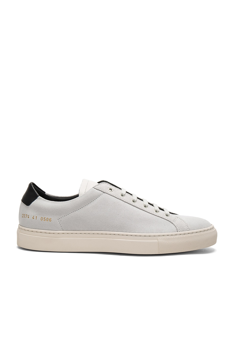 Achilles Retro Low Suede by Common Projects
