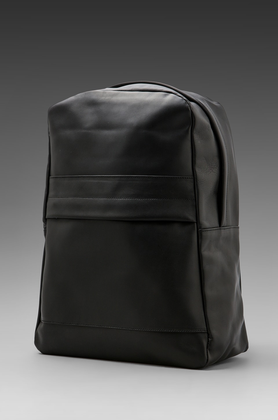 Common Projects Leather Knapsack in Black