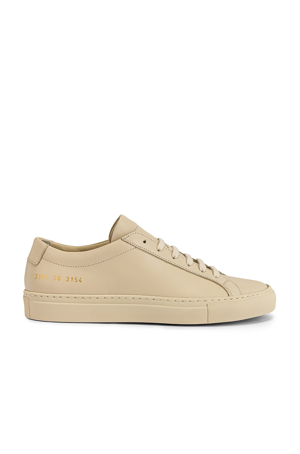 Common Projects Original Achilles Low Sneaker in Off White