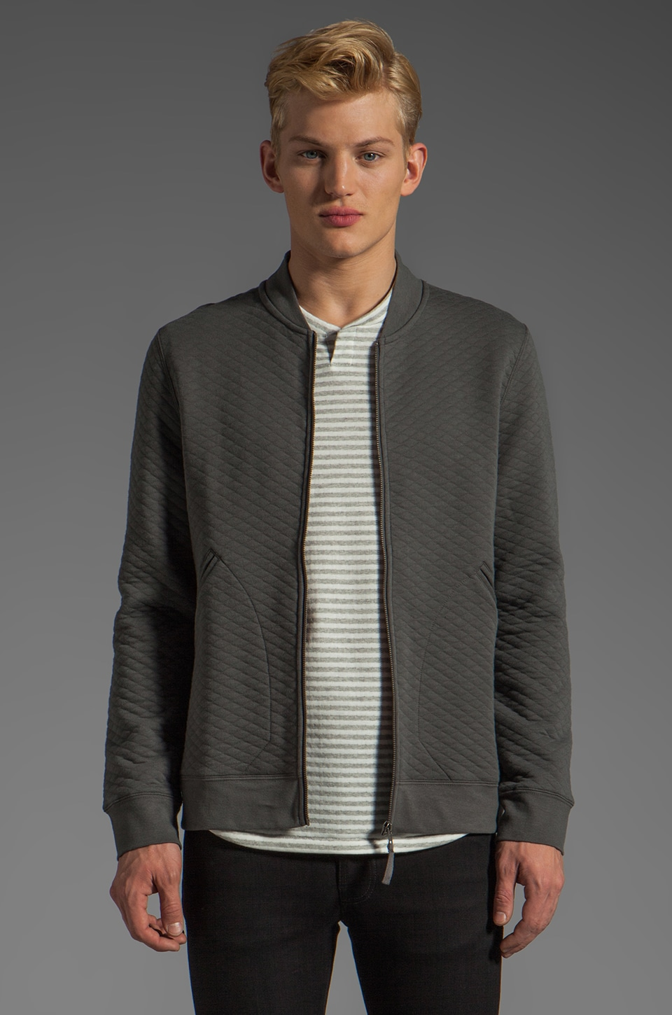 COMUNE Andrew Fleece in Charcoal
