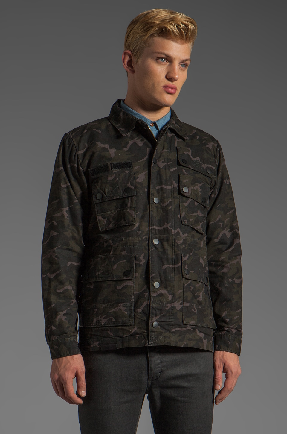 COMUNE Bryant Jacket in Camo