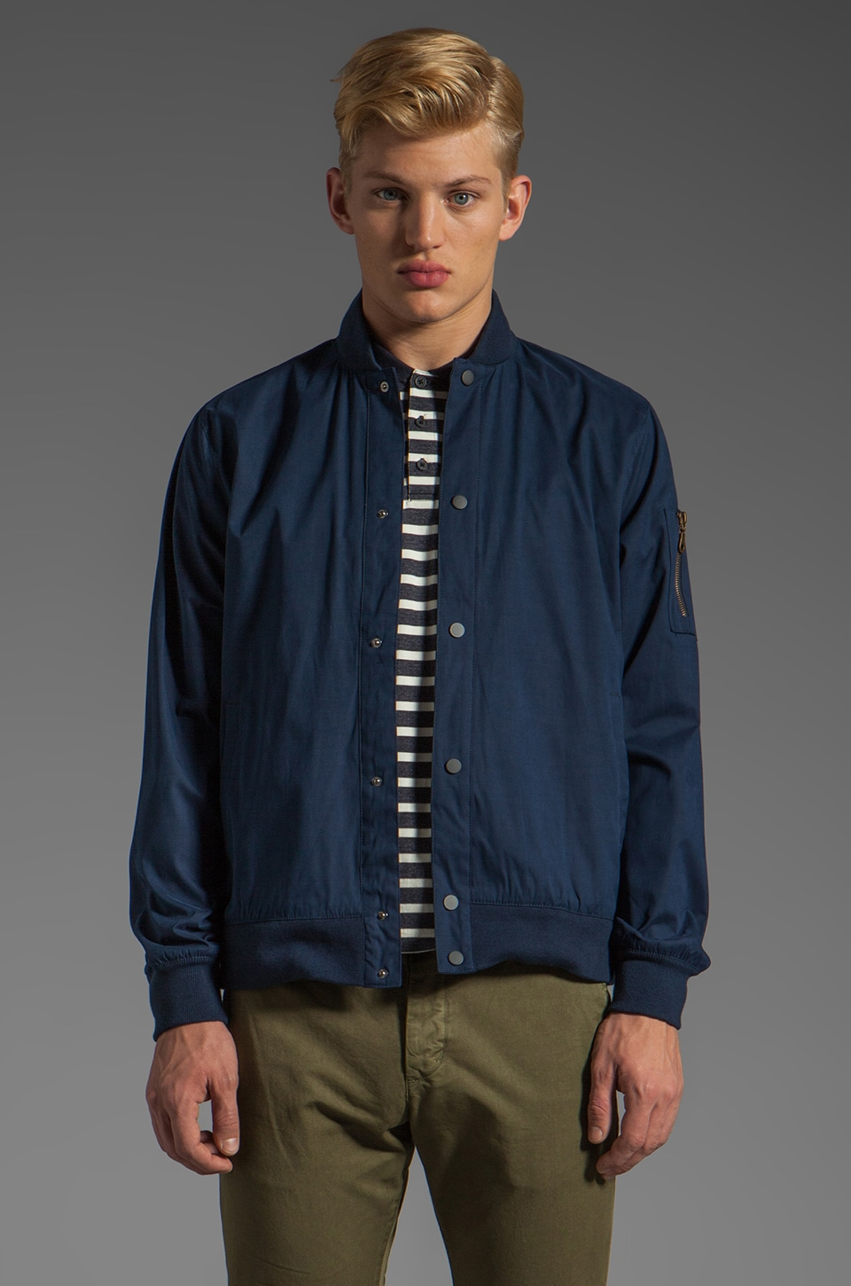 COMUNE CS Daws Jacket in Dark Navy