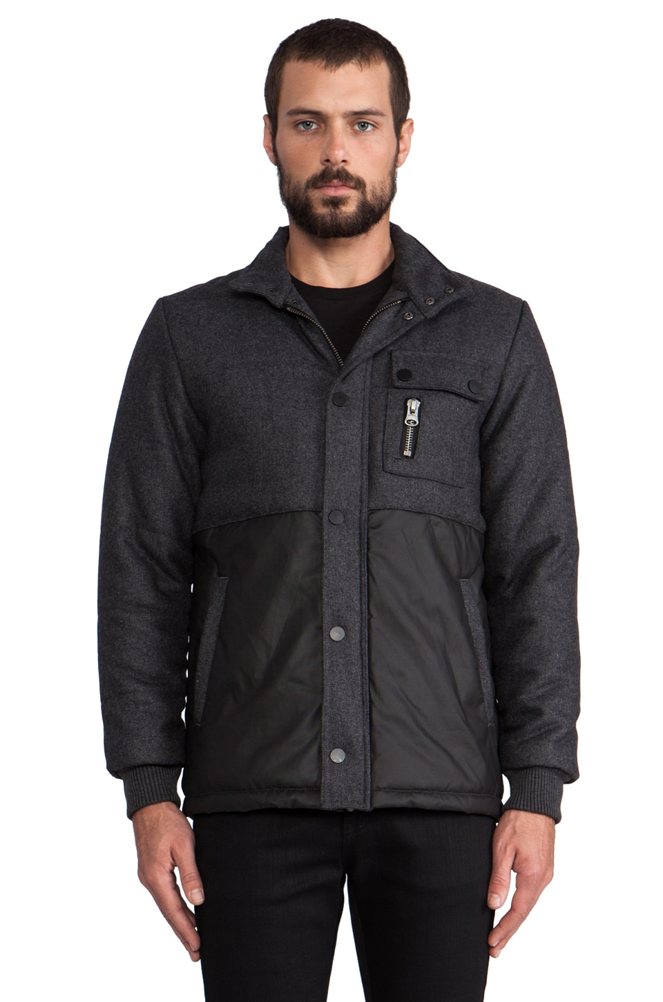 COMUNE Ryland Jacket in Charcoal