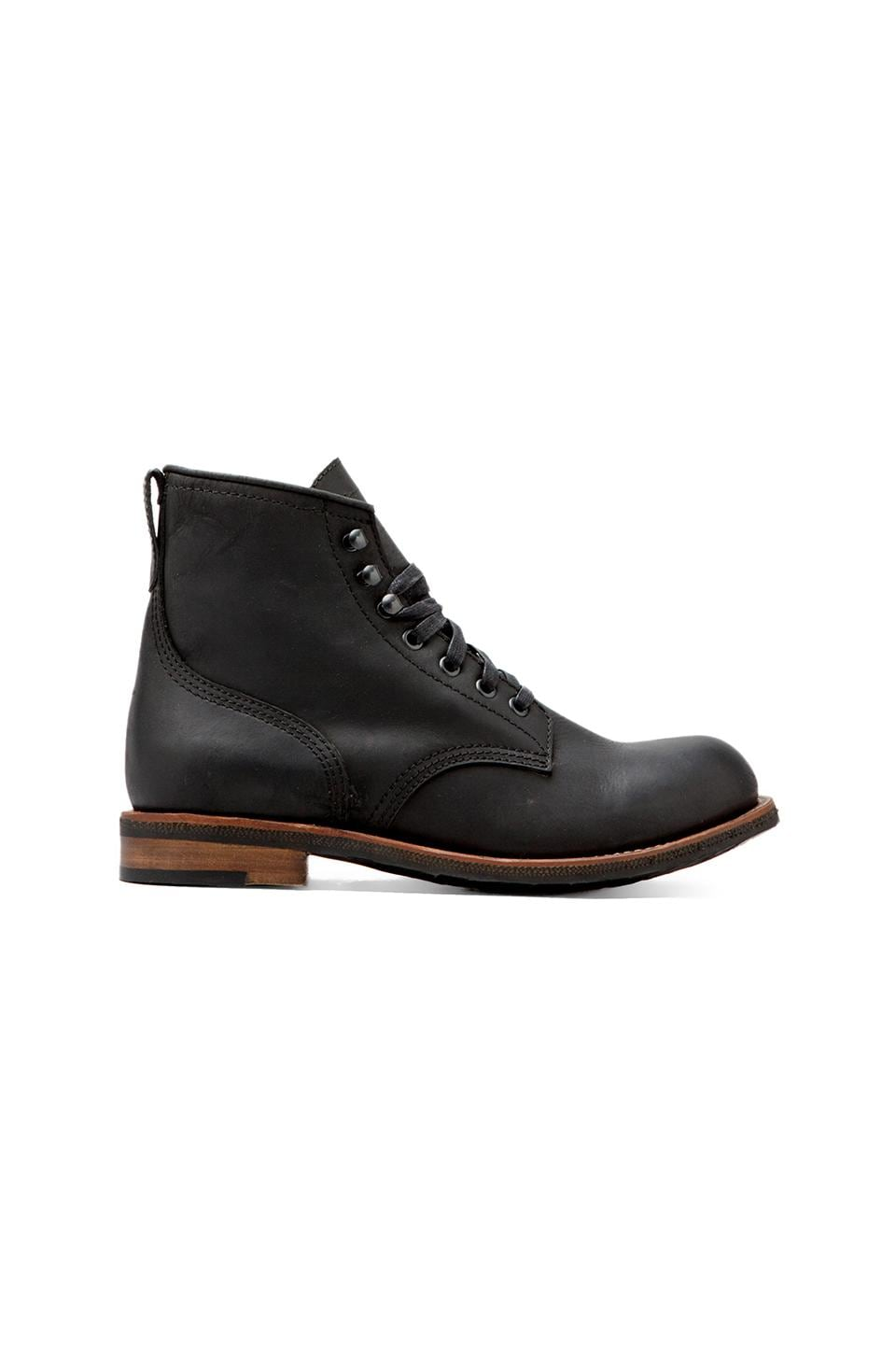 COMUNE Reed Classic Utility Boot in Black