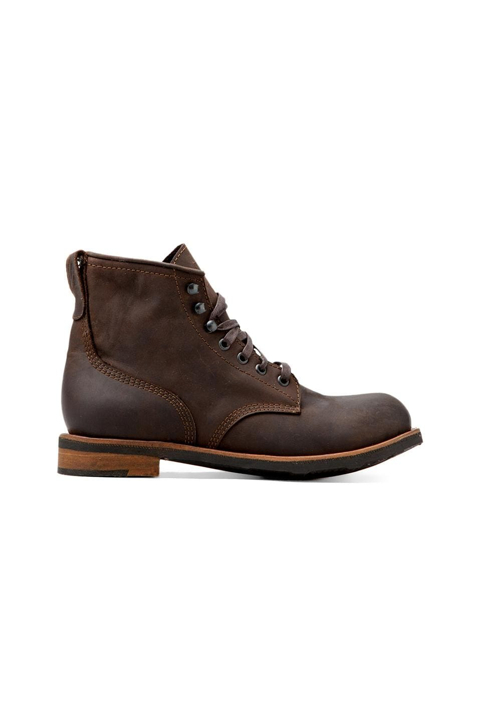 COMUNE Reed Classic Utility Boot in Brown