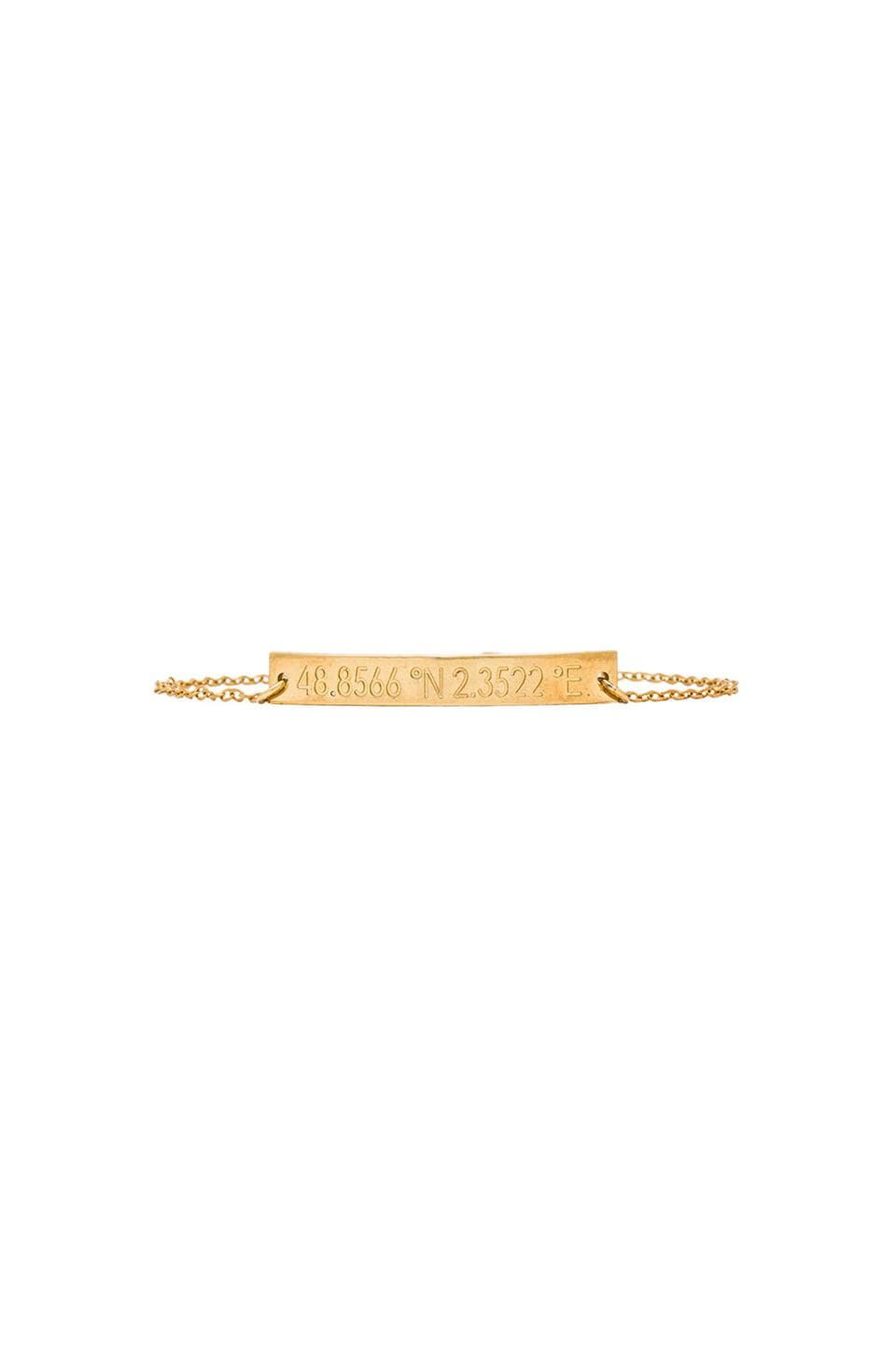coordinates Lovers in Paris Nile Bracelet in Gold