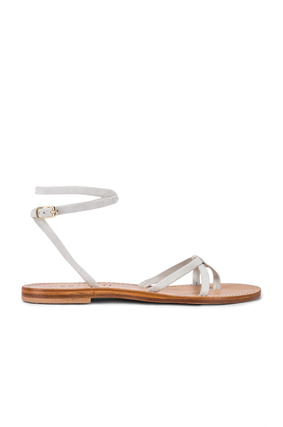 CoRNETTI Vulcanello Sandal in White