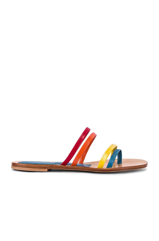 CoRNETTI Zannone Sandal in Rainbow