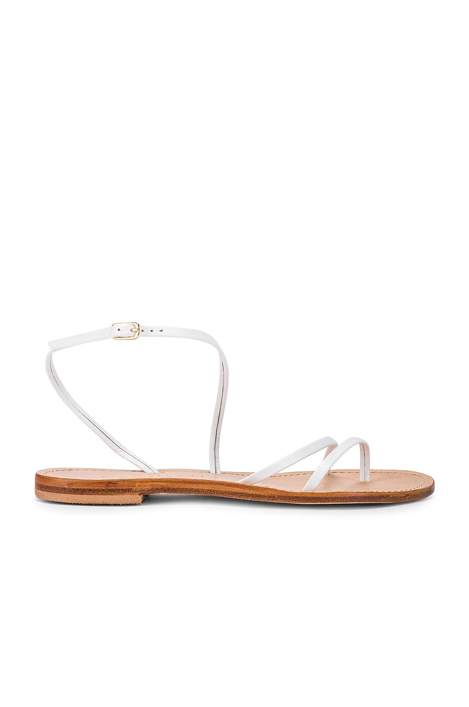 CoRNETTI Eolie Sandal in White