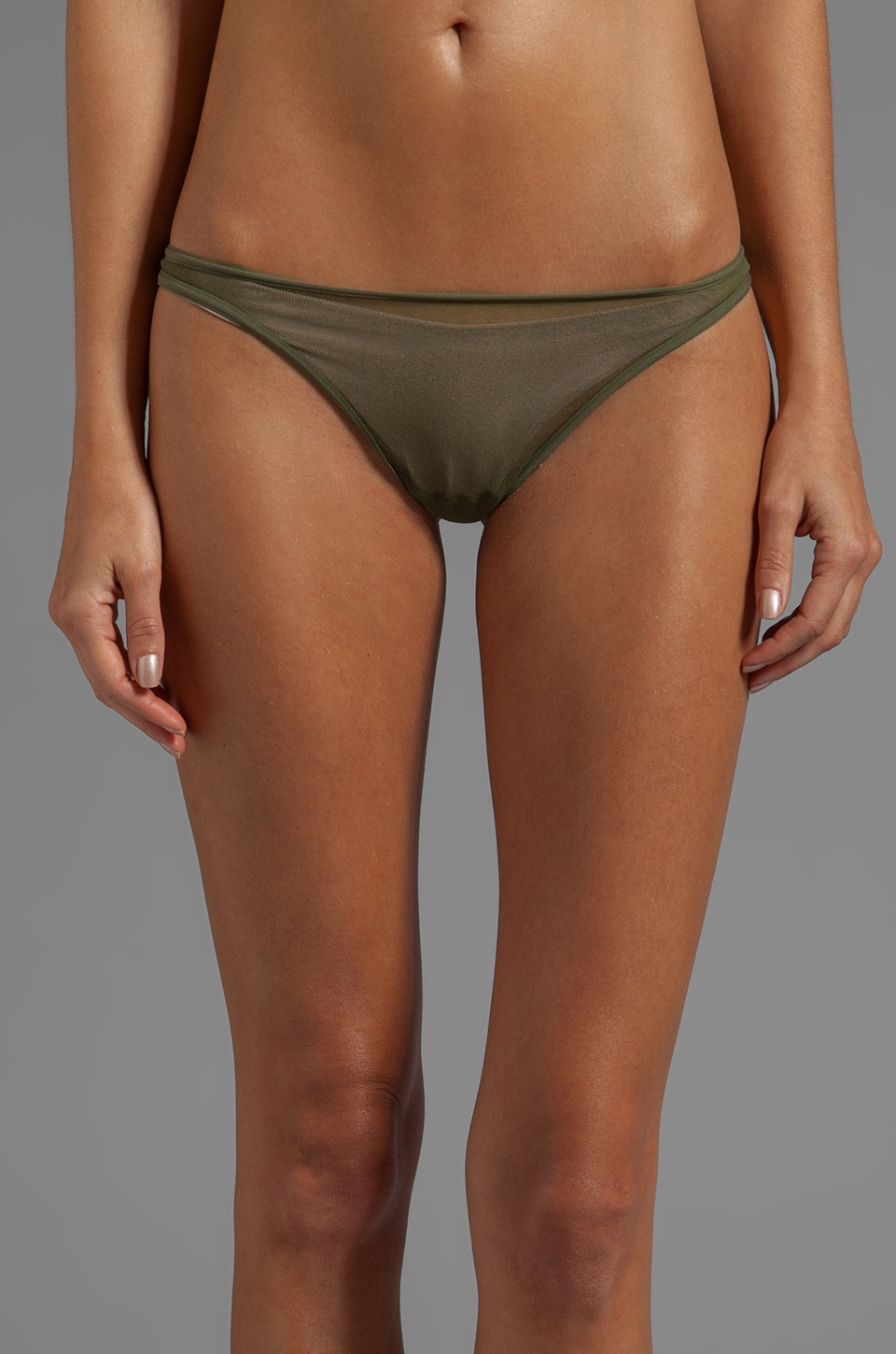 Cosabella Soire Classic Thong in Cypress
