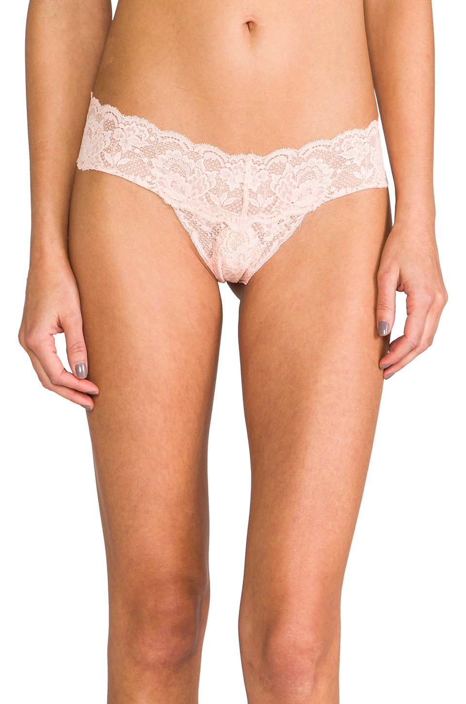 Cosabella Never Say Never Cutie LR Thong in Bellini