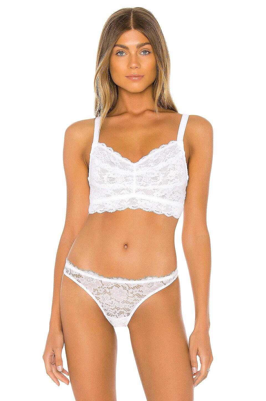 Cosabella Curvy Sweetie Bralette in White