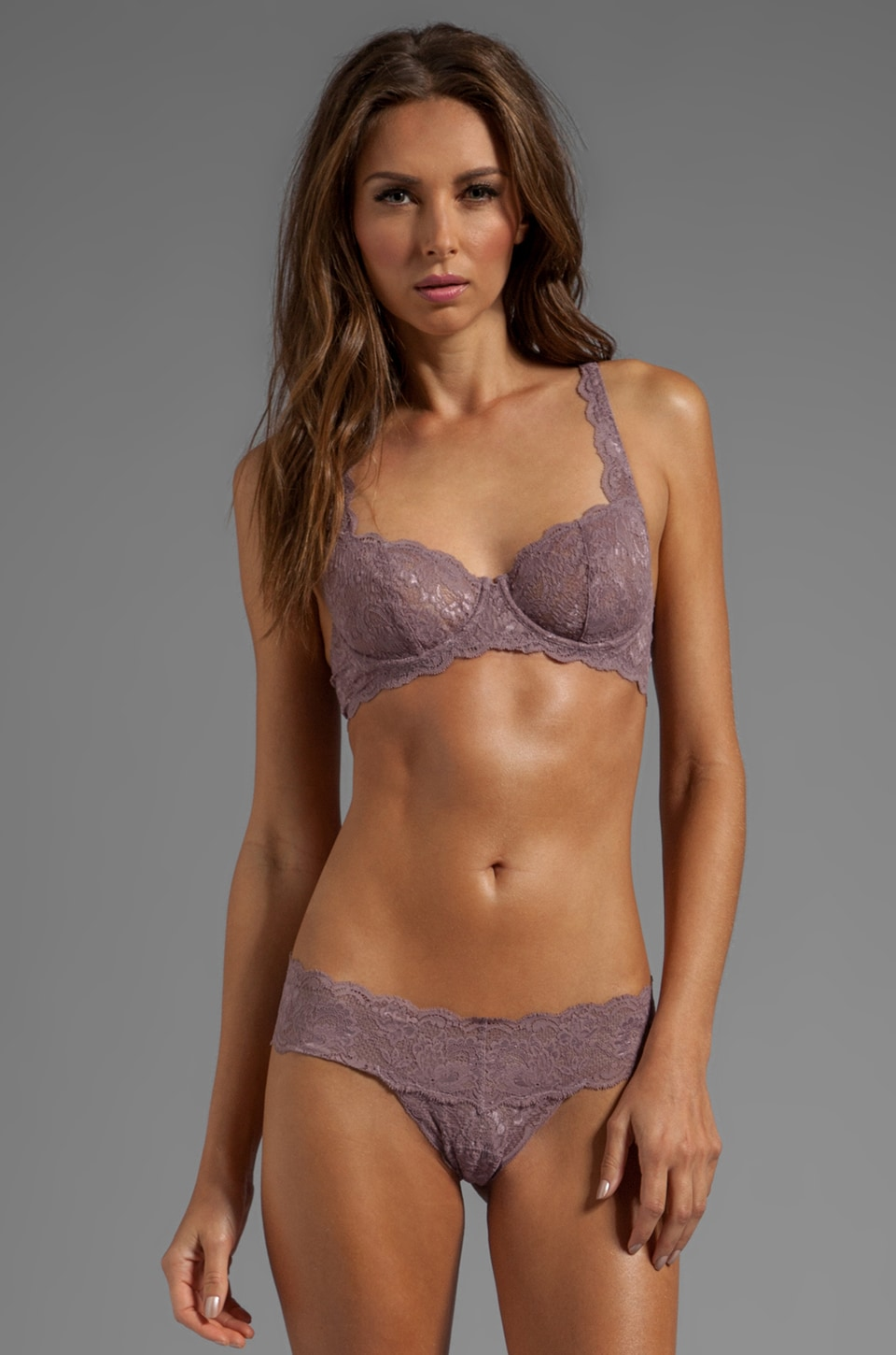 Cosabella Never Say Never Prettie Underwire Bra in Dusty Mauve