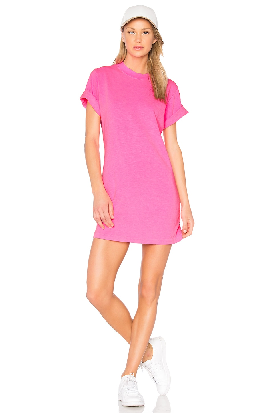 COTTON CITIZEN The Tokyo Mini Dress in Pink