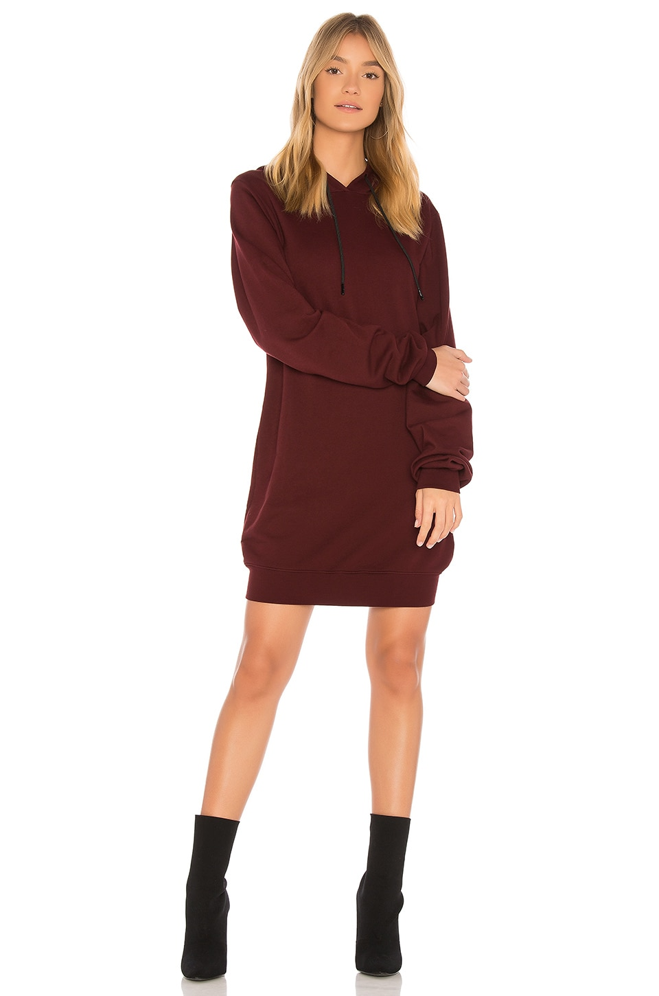 The Milan Backless Hoodie Dress by COTTON CITIZEN