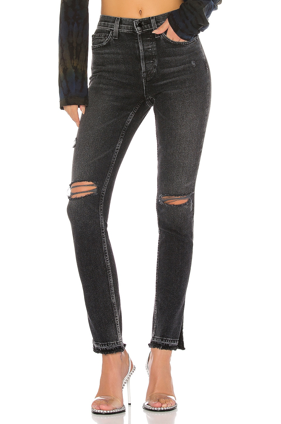 COTTON CITIZEN High Split Skinny in Bowery