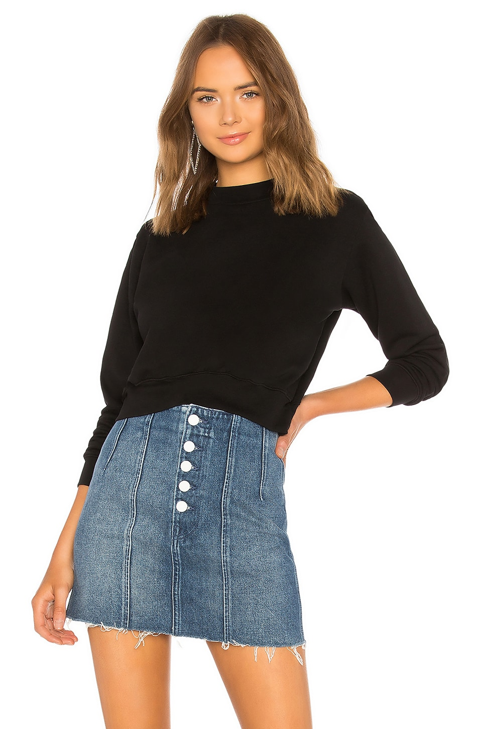 Cotton Citizen MILAN CROPPED SWEATSHIRT