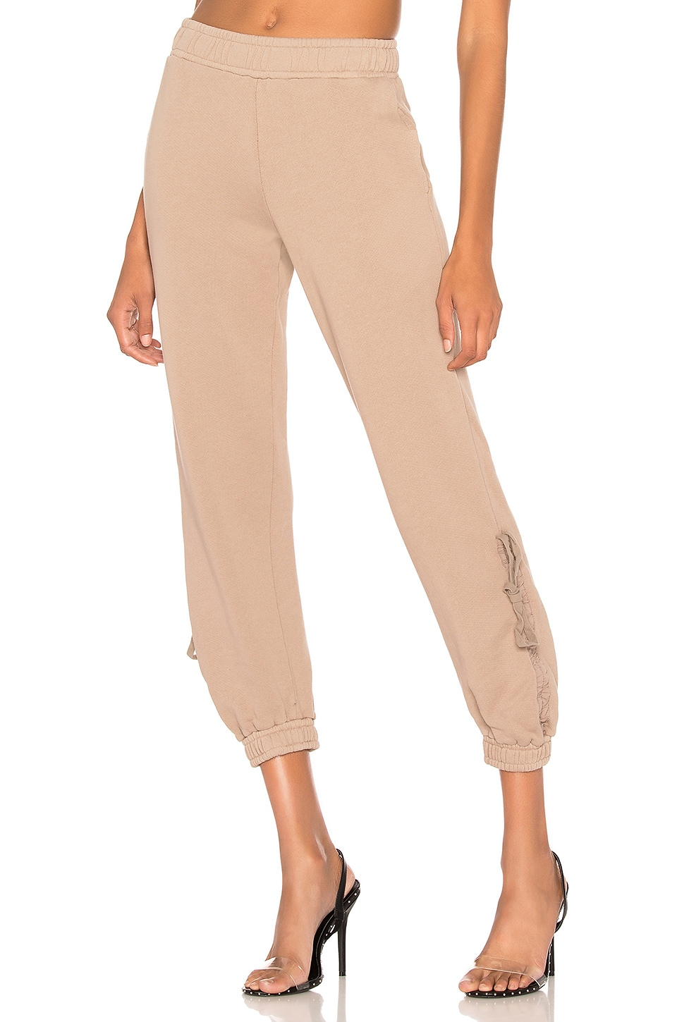 COTTON CITIZEN The Brooklyn Sweatpant in Cappuccino