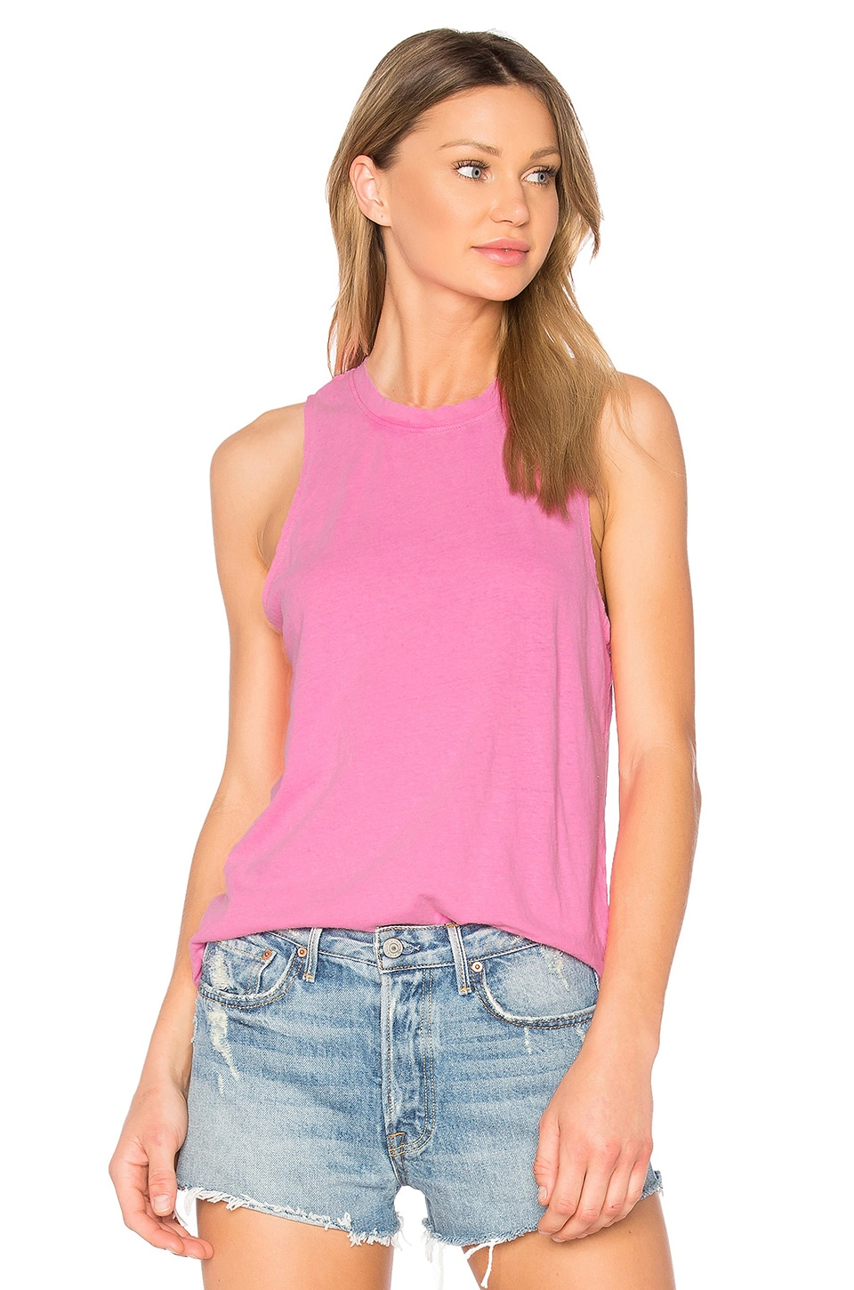 COTTON CITIZEN The Amsterdam Tank in Pink