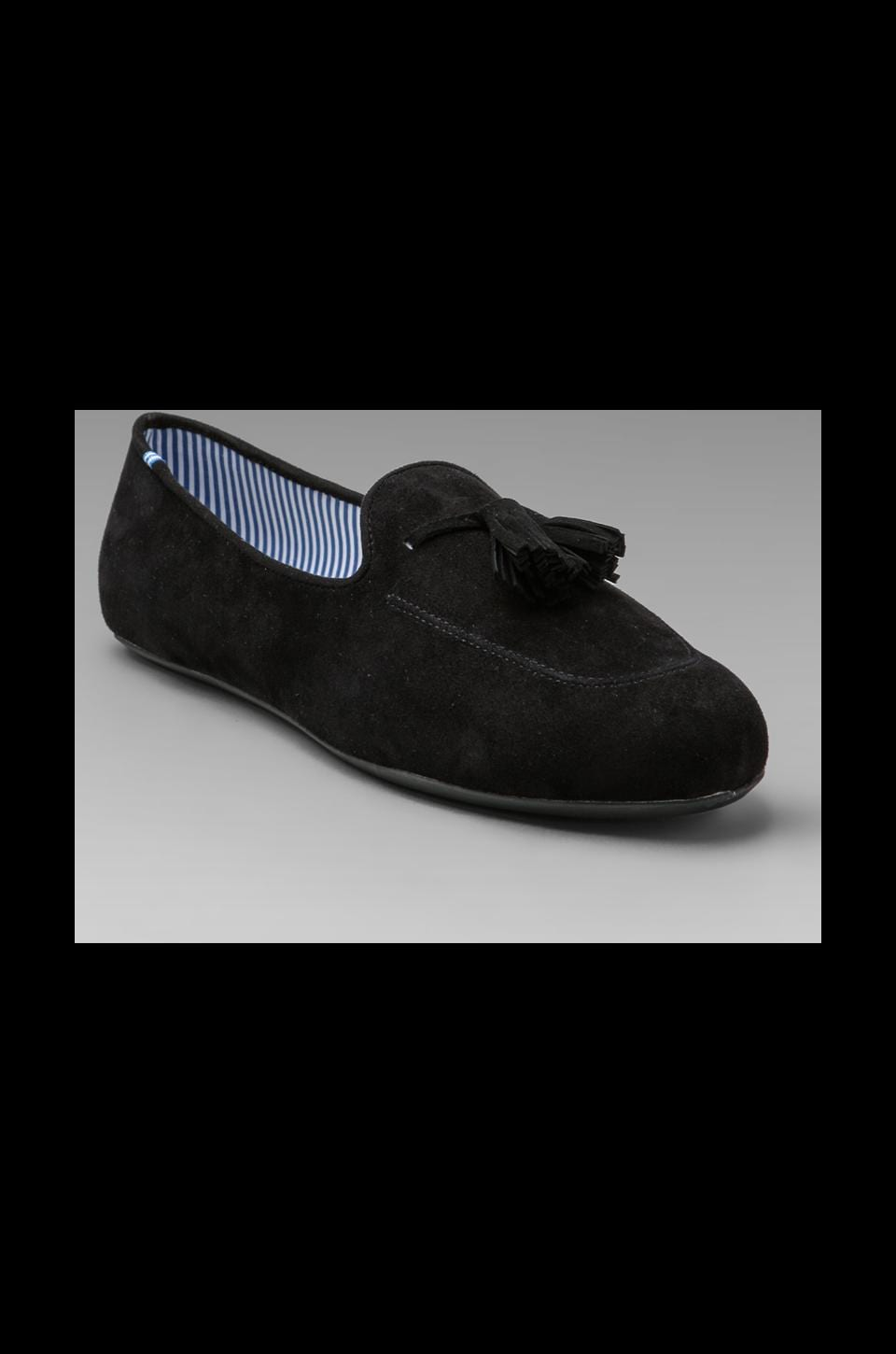 Charles Philip Shanghai Ronald Slipper in Black/Black