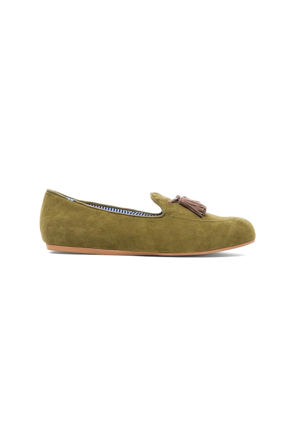 Charles Philip Shanghai Ronald Loafer in Sage & Taupe