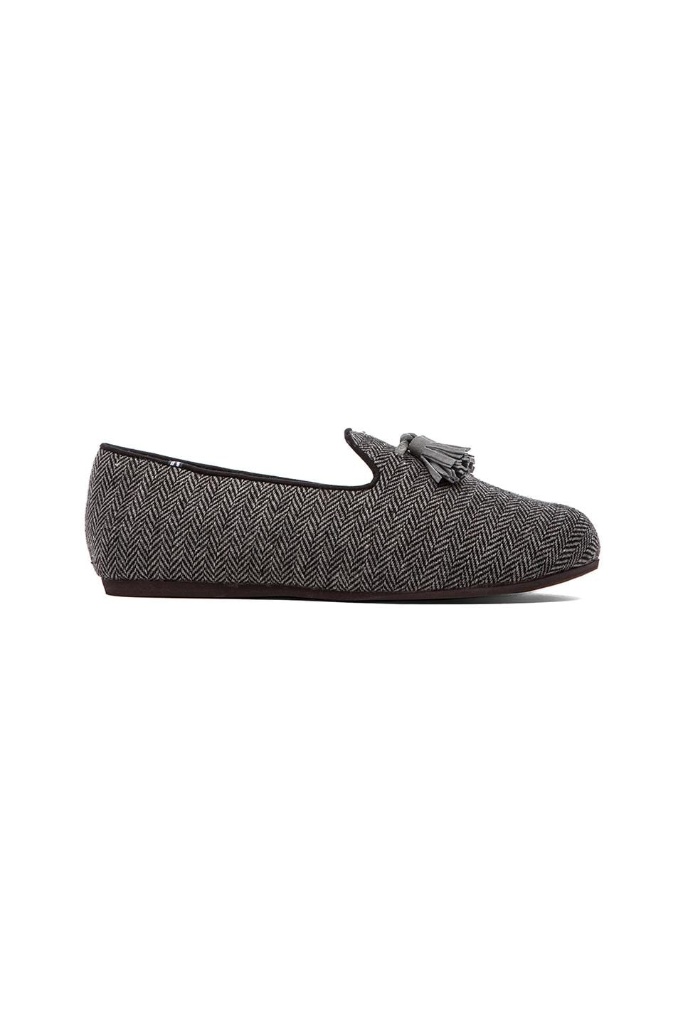 Charles Philip Shanghai Costantino Loafer in Grey Herringbone