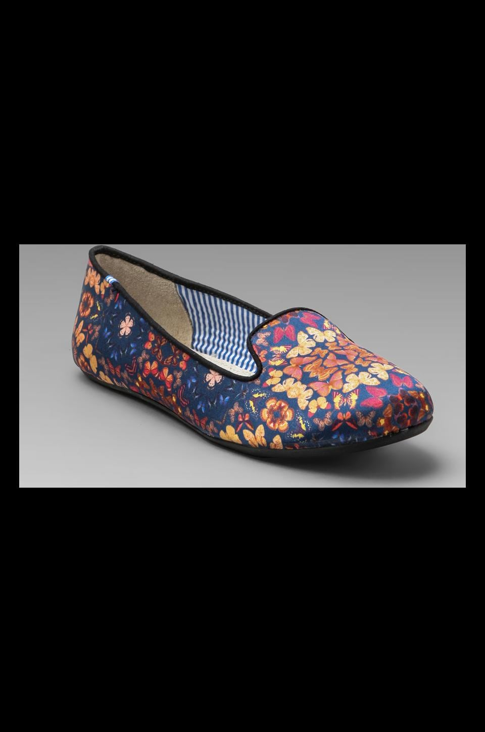 Charles Philip Shanghai Yasmine Kaleidoscopes Flat in Blue/Multi