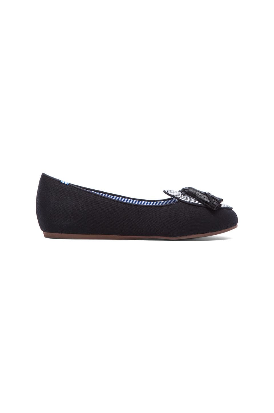 Charles Philip Shanghai Olimpia Loafer in Black Gingham & Black